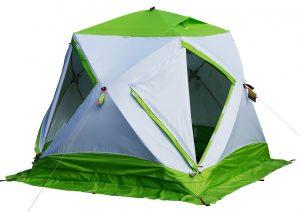 Фото Зимняя палатка Лотос Куб 3 Компакт Термо