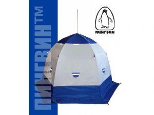 Фото Зимняя палатка Пингвин 4 с дышащим верхом (1-сл.)